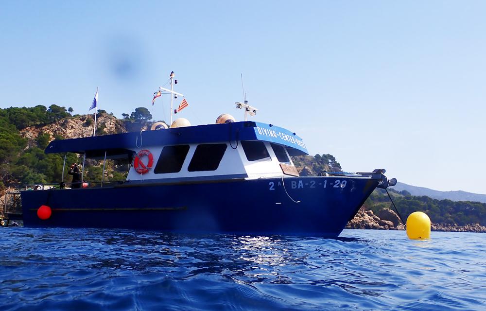 Submarinismo en la Costa Brava. Centro de Buceo Poseidon