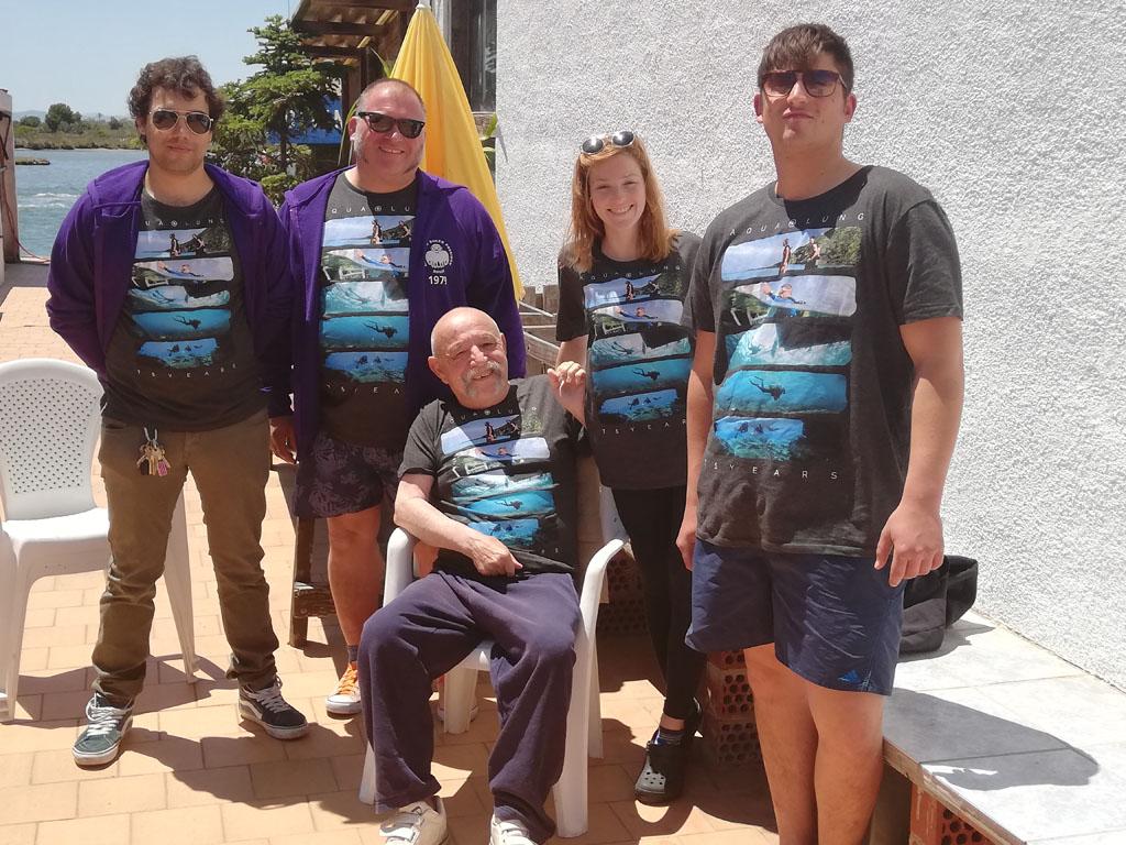 Familia Mörker. 3 generaciones de submarinistas