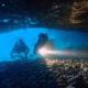 Túnel submarino en Cap de Creus. Roses. Costa Brava